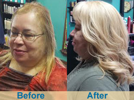 Extensions for thin fine hair dallas fort worth dfw tx crown topper hair extensions blonde pmusecretfo Image collections